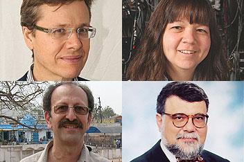 David Donoho, Deborah Jin, David Shulman, Celâl Şengör