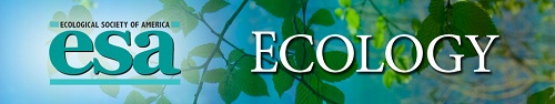 ESA Journal - Ecology