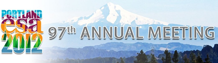 2012 Ecological Society of America Annual Meeting