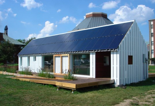 Illinois Gable House Takes 2nd Prize in Solar Decathlon